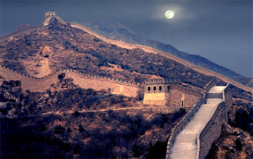 Moonrise - Great Wall